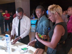 Samsung S5 launch in Trinidad and Tobago