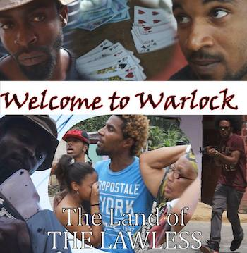 Promotional material for the local film, Welcome to Warlock.