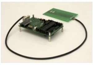 Figure 02: Omar Choudary's specialized hardware 'device' used in academic research into Chip & PIN vulnerabilities