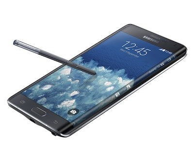 Samsung's new Note Edge