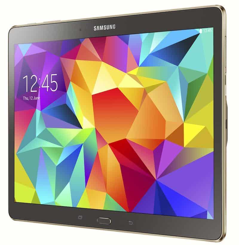 Samsung's Galaxy Tab S
