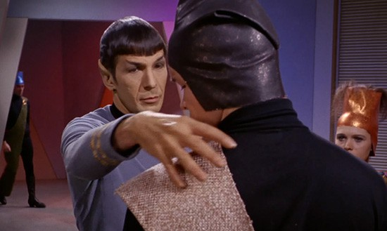 In an age of fisticuffs, Spock made the subtle nerve pinch move cool.