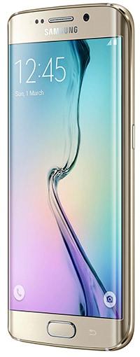 Samsung's new S6 edge smartphone. Photo courtesy Samsung.