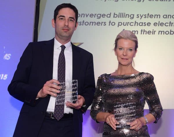 "Digicel took home the ""Best Consumer Service Innovation"" Award for its Easypay utility payment service in Papua New Guinea which was collected by Digicel Board Member, Vanessa Slowey"