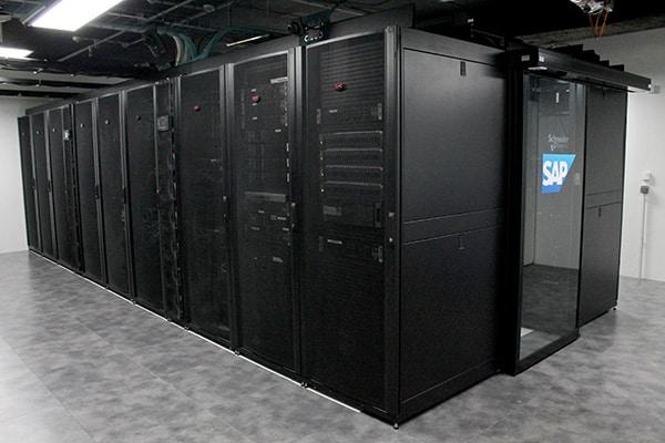 The new Schneider Electric built datacenter for SAP, France.