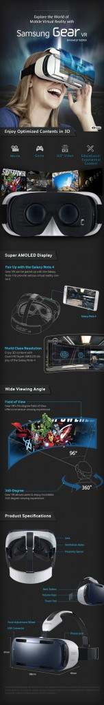 Gear VR features.