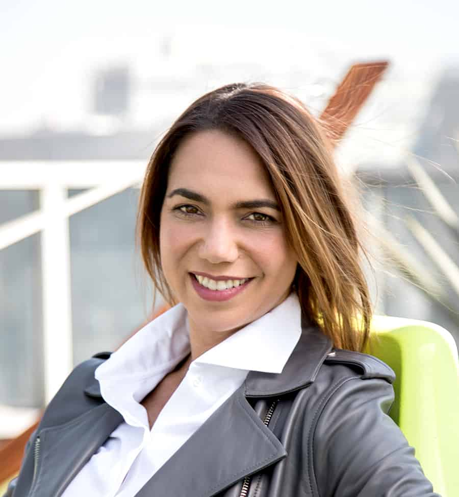 Microsoft's new PR and Communications Director for Latin America, Florencia Bianco. Photo courtesy Microsoft.