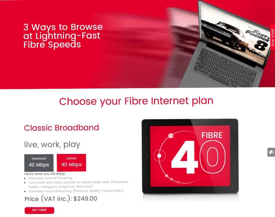 DigicelTT  revamps broadband plans