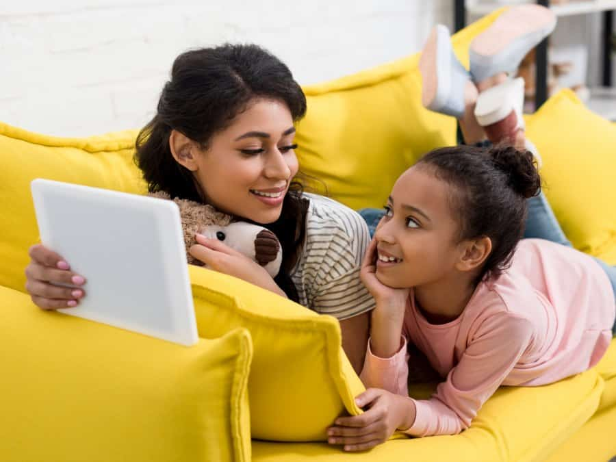 Managing screentime for children