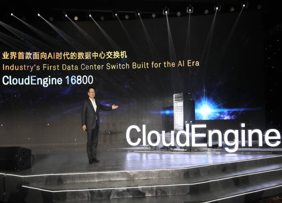 Huawei introduces AI powered Data Center Switch