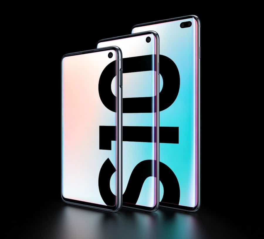 Samsung unveils the S10