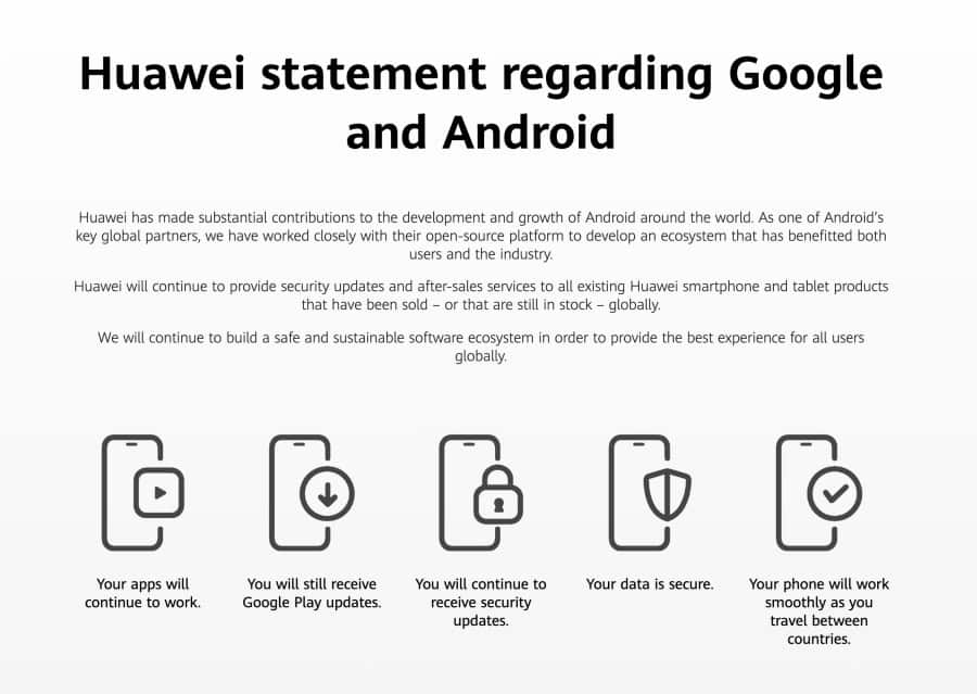 Huawei creates microsite to address Android concerns