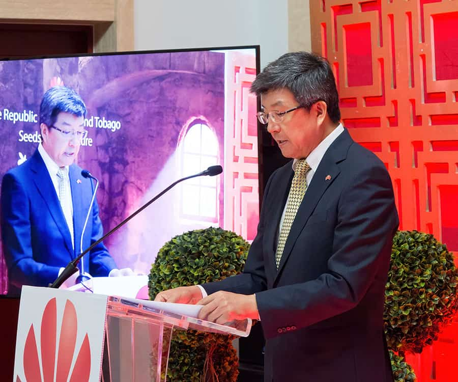 Chinese Ambassador to TT laments US trade relations impasse