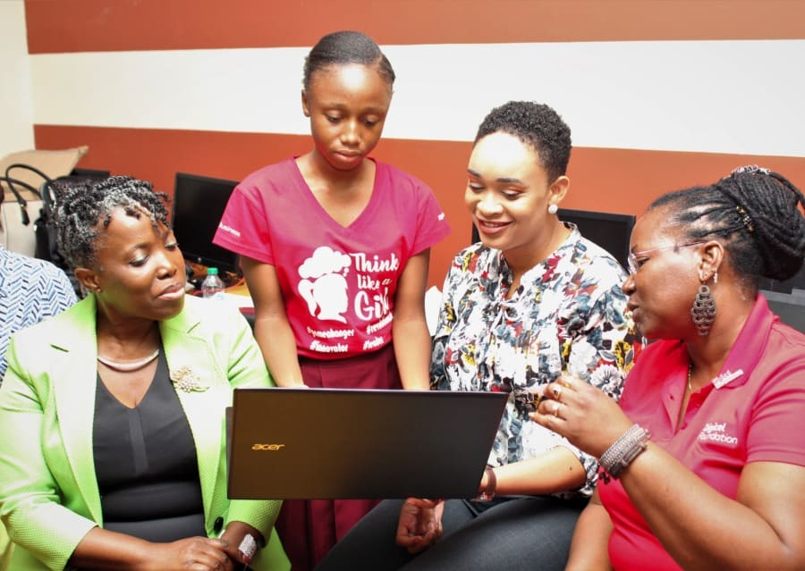 Digicel hosts Girls Power Tech challenge