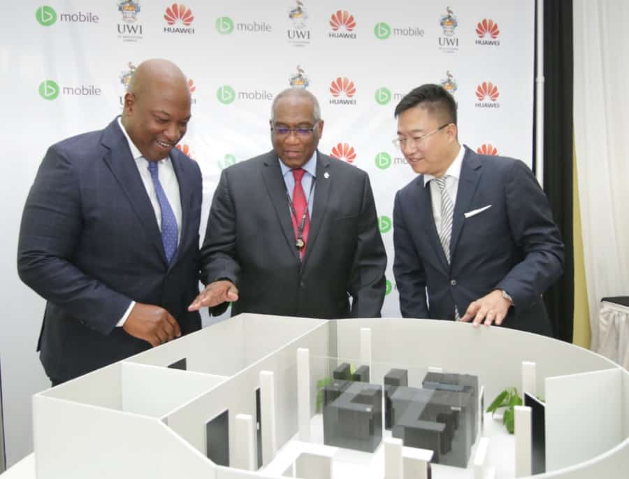 TSTT, Huawei to build $13m innovation lab for UWI