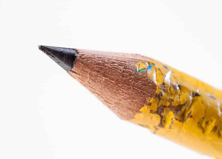 Lead pencilling