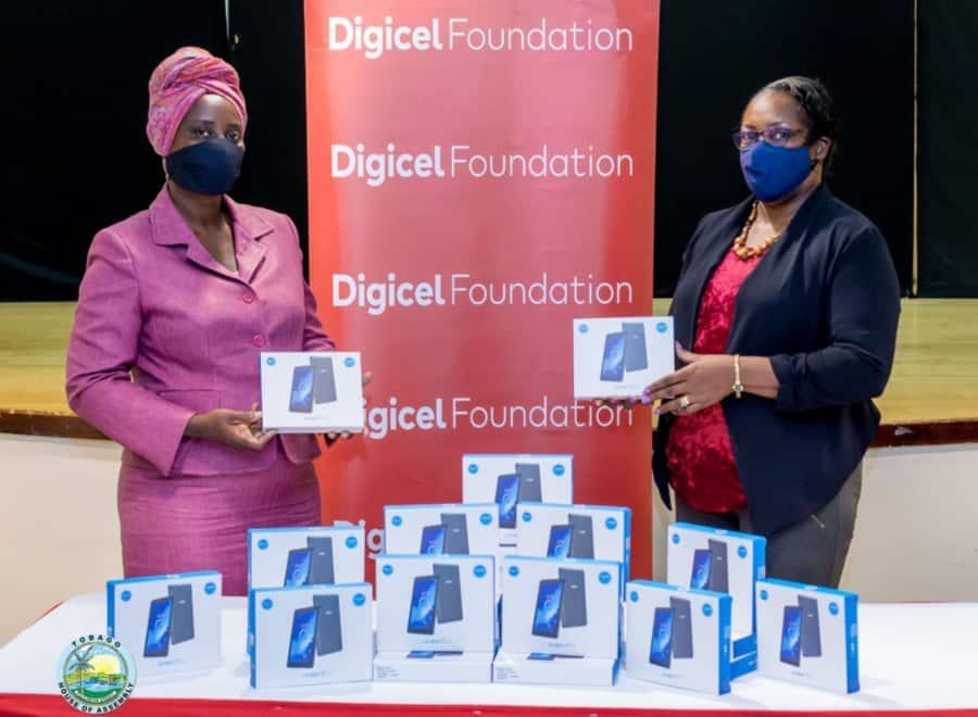 Digicel Foundation donates 1,095 tablets to special needs schools